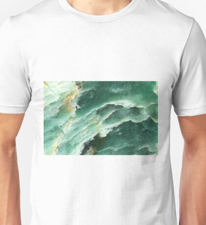 Abstract design in Green. Unisex T-Shirt