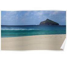 Blinky Beach, Lord Howe Island Poster