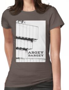 Argey Bargey Brummie saying on Photograph of the Birmingham Library Womens Fitted T-Shirt