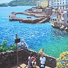 Coast Of Plymouth City Uk by martyee