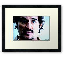 Kim Coates Large Size Portrait Framed Print