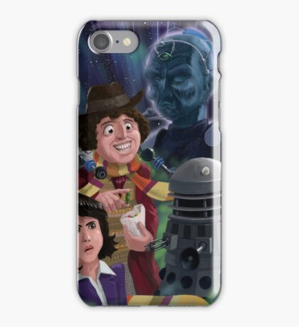 Dr Who 4th doctor Jelly Baby iPhone Case/Skin