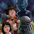 Dr Who 4th doctor Jelly Baby by martyee