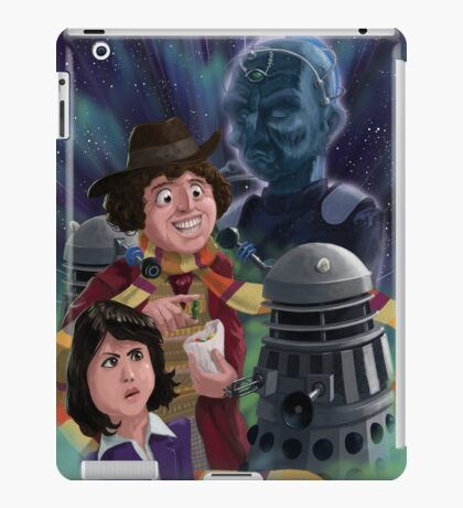 Dr Who 4th doctor Jelly Baby iPad Case/Skin