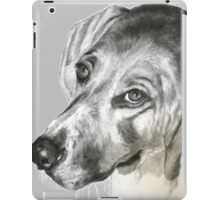 baxter - the hound dog! iPad Case/Skin