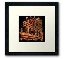 Rome - Colosseum Art  Framed Print