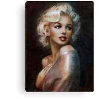Marilyn romantic soft Canvas Print
