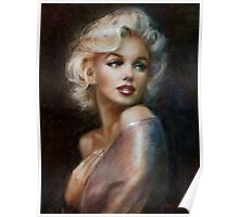 Marilyn romantic soft Poster