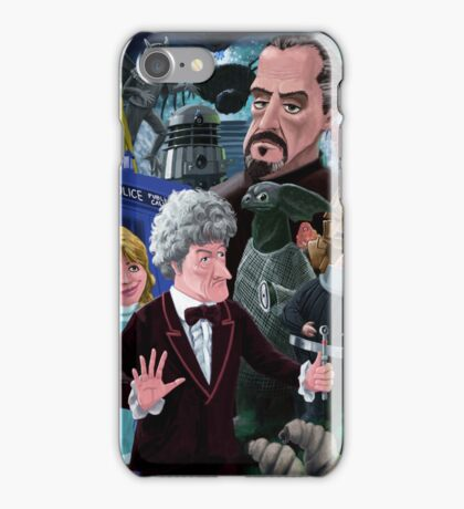 3rd Dr Who And Friends iPhone Case/Skin