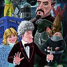 3rd Dr Who And Friends by martyee