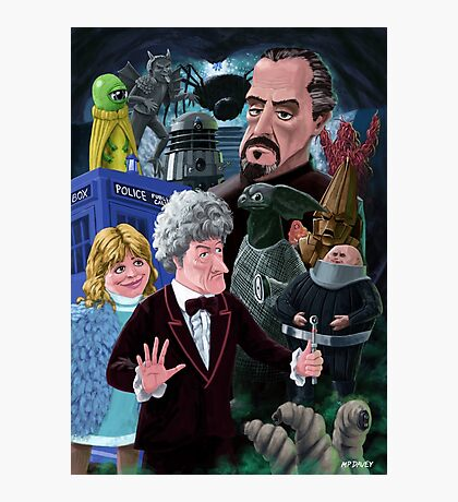 3rd Dr Who And Friends Photographic Print