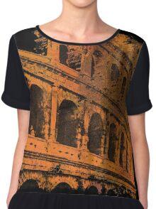 Rome - Colosseum Art  Chiffon Top
