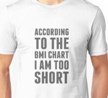BMI Chart Unisex T-Shirt