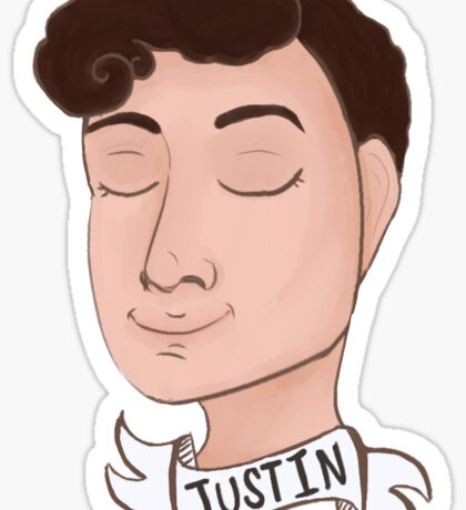 Justin McElroy Sticker