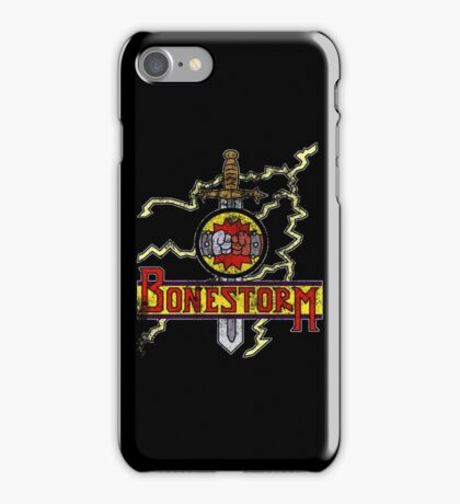 Bonestorm (portable) iPhone Case/Skin