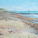 Bournemouth Beach Hengistbury Head by martyee