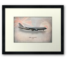 Airbus Voyager KC3 ZZ337 Framed Print