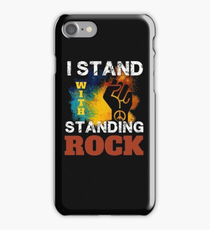 I Stand With Standing Rock Water Is Life Protest iPhone Case/Skin