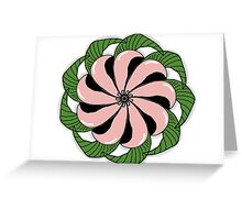 Pinky Symmetricals Greeting Card