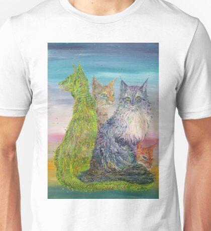 FOUR CATS Unisex T-Shirt