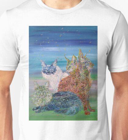 POKER OF CATS Unisex T-Shirt