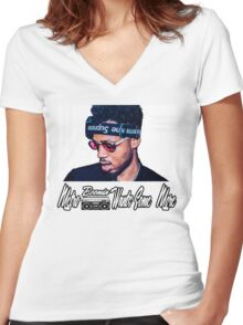 Metro Boomin Want Some More Women's Fitted V-Neck T-Shirt