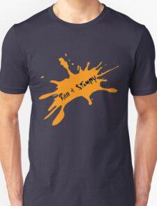 Ren and Stimpy Splatter Unisex T-Shirt