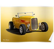 1932 Ford HiBoy Roadster Poster