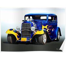 1932 Ford Victoria Sedan Poster