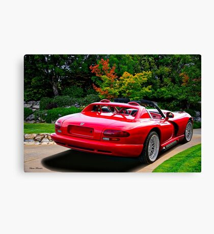 1995 Dodge Viper I Canvas Print