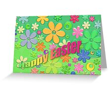 Colourful Easter Greeting Card