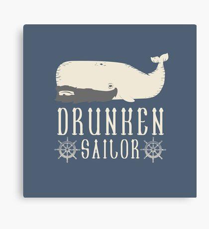 Drunken Sailor Canvas Print
