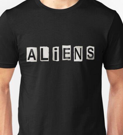 Aliens. Unisex T-Shirt