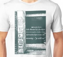 Vade mecum definition - to go with me on a photograph of Birmingham Paradise Forum before demolition Unisex T-Shirt