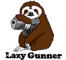 Lazy Gunner Photographic Print