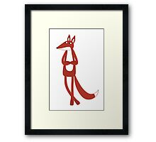 Urban Fox Framed Print