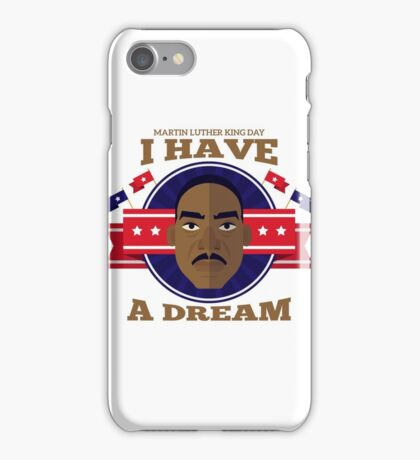 Silon Martin Luther King Vision iPhone Case/Skin