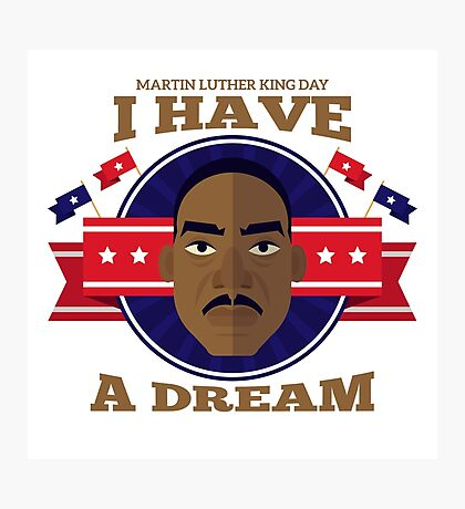 Silon Martin Luther King Vision Photographic Print