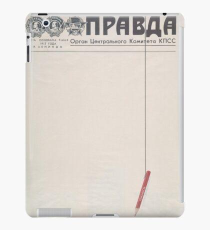 Soviet propaganda - The truth iPad Case/Skin