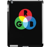 RGB Red Green Blue Colour Color Spectrum iPad Case/Skin