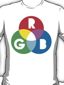 RGB Red Green Blue Colour Color Spectrum T-Shirt