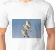 Three Wise Parrots Unisex T-Shirt