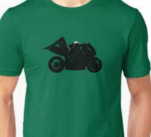 Bikini Girl on Motorcycle - Silhouette Unisex T-Shirt