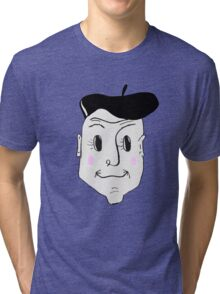 French Detective Tri-blend T-Shirt