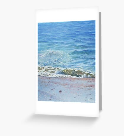 One Wave Greeting Card
