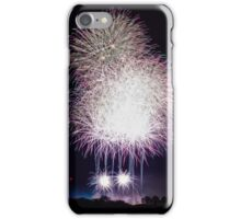 Beautiful colorful fireworks iPhone Case/Skin