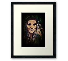 Catelyn Stark Framed Print