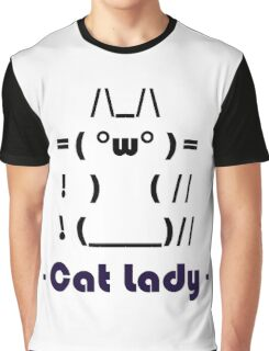 Cat Lady Graphic T-Shirt