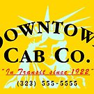 Downtown Cab Company Liberty by puppaluppa