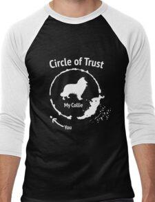 Funny Collie shirt - Circle of Trust Men's Baseball ¾ T-Shirt